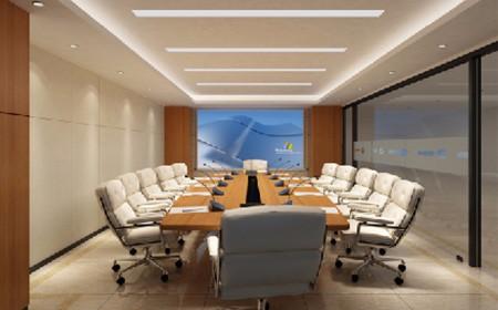 钜洪装饰会议室装修设计需要注意什么?(图1)